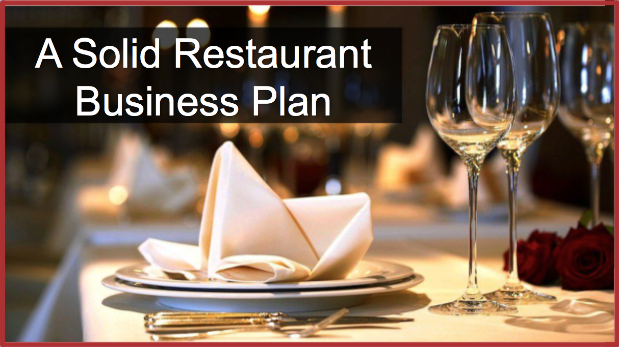 How To Write A Restaurant Business Plan With Sample